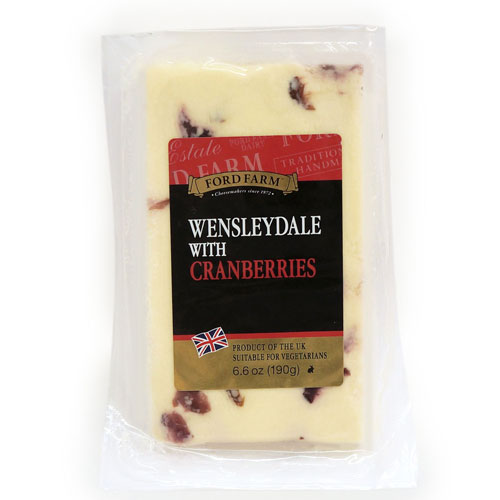 Wensleydale with Cranberries 190g