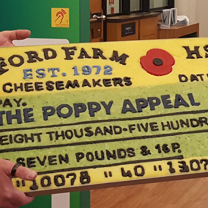 Ford Farm raises over 8.5k for Royal British Legion