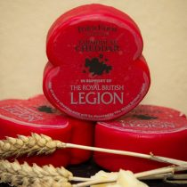 Dorset Cheddar Cheese has Poppy Appeal